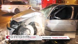 Երևանում 26 ամյա վարորդը ծննդատան մոտ BMW ով բախվել է հաստաբուն ծառին  կա վիրավոր