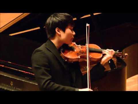 In Mo Yang -- Menuhin Competition 2014 -- Senior Semi-Finals