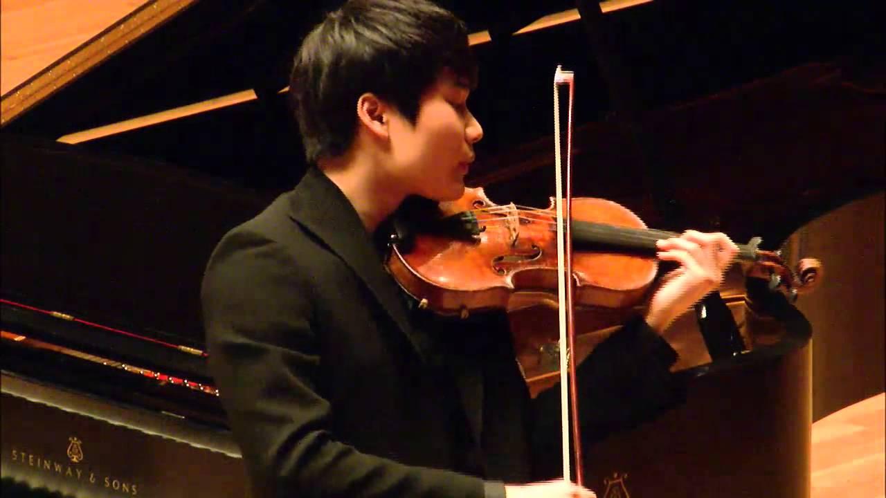 In Mo Yang -- Menuhin Competition 2014 -- Senior Semi-Finals - YouTube