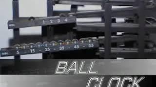 Novelty Rolling Ball Clock