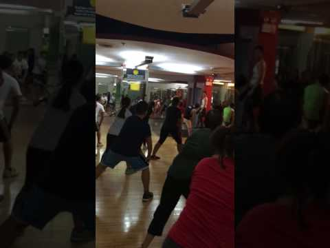 Velocidad 6 (Merengue) Zumba® with Marites Pieper @ Golds Gym Gloriettta Philippines
