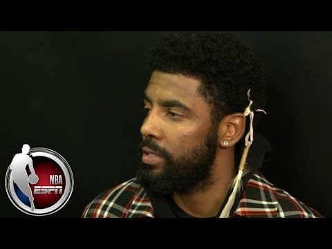 Kyrie Irving overjoyed to be back on the court as a Boston Celtic   NBA Interview
