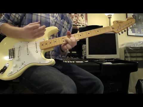 John Mayer - Jimi Hendrix - Wait Until Tomorrow - Fender Masterbuilt Proto