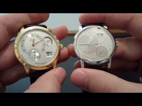 Lange & Sohne vs Glashutte Original Comparison Review