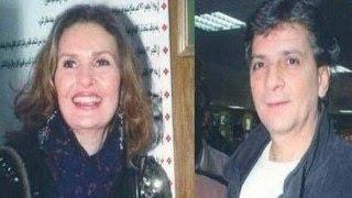 صور نادرة للنجمة يسرا مع زوجها