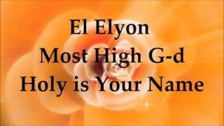 Watch Paul Wilbur El Elyon video