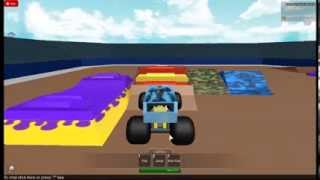 roblox monster jam fox sports 1 cleatus freestyle