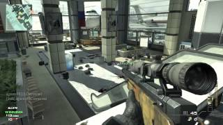 Eagle Eye  PS3 MW3 Gameplay Sniping at Terminal (DADDYGAME)