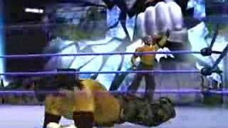 WWE SmackDown vs Raw 2008 - Rey Mysterio 619 Finisher