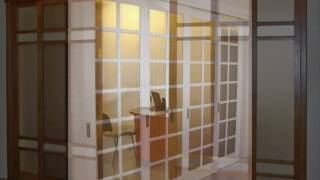 видео Радиусные двери из стекла как эксклюзивное решение в интерьере