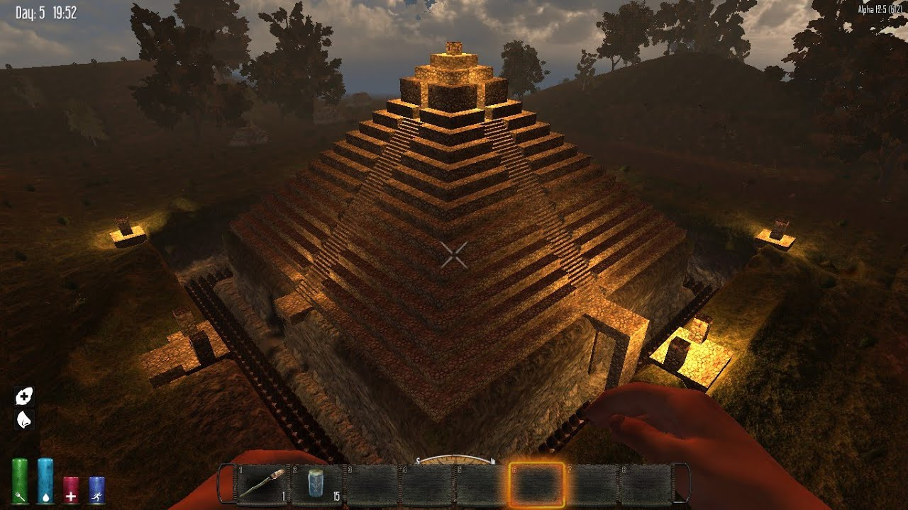 How To Build A Pyramid  Days To Die