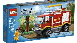 Lego City Fire Truck 4208 - Lego Speed Build