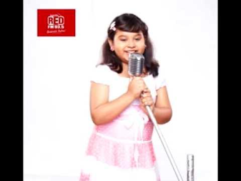 Indian Idol Jr Singer Sonakshi with Rj Animesh on Red Fm