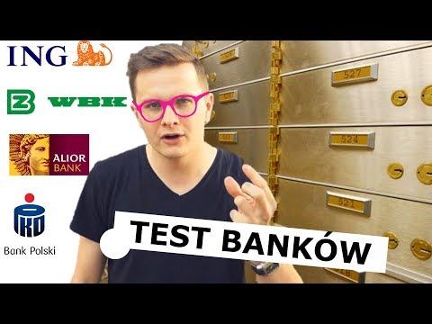 KTÓRY BANK LEPSZY? PKO BP, BZ WBK, ING, ALIOR BANK