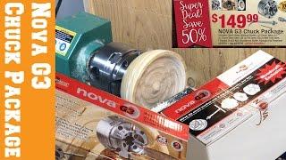 Nova G3 Chuck Set from Woodcraft - Unboxing & Demo