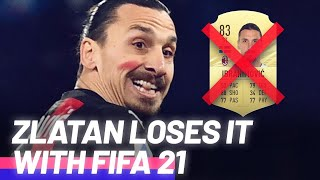 Zlatan Ibrahimović's huge rant about FIFA 21 and EA Sports! | Oh My Goal