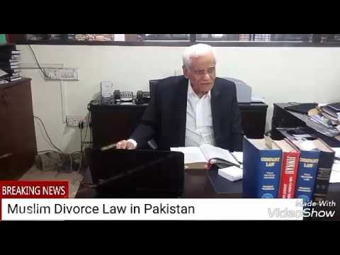 MUSLIM DIVORCE LAW OF PAKISTAN