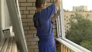 Стеклим балкон(, 2014-04-10T15:53:43.000Z)