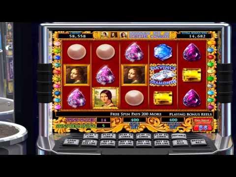 Da Vinci Diamonds Pokie Machine