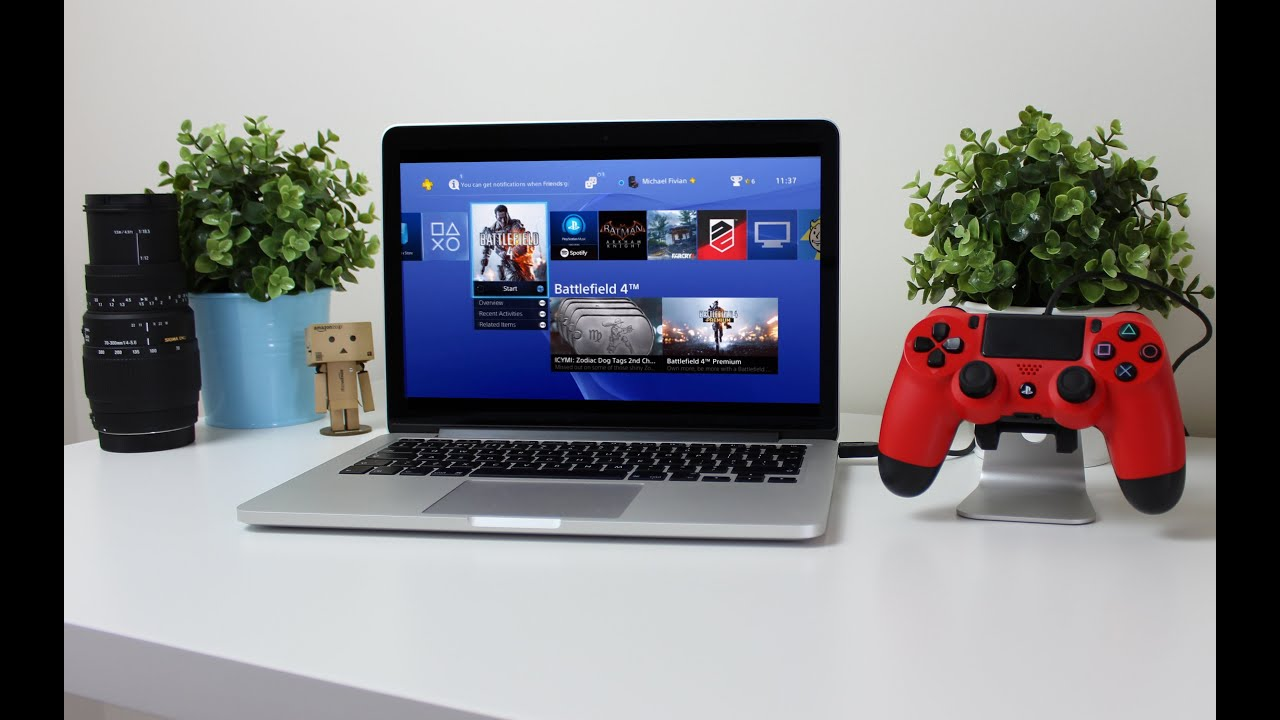 Play Your Playstation 4 On Mac Or Pc Remote Play Review