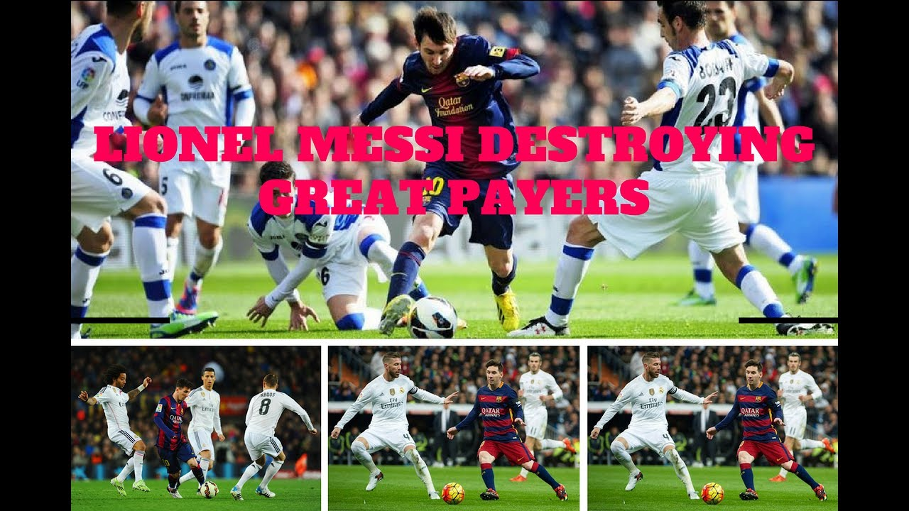 Download Lionel Messi Destroying Great Defenders ● Humiliating Best Defenders In The World HD