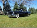 1957 Cadillac Eldorado Biarritz Convertible in Black & Engine Sound My Car Story with Lou Costabile