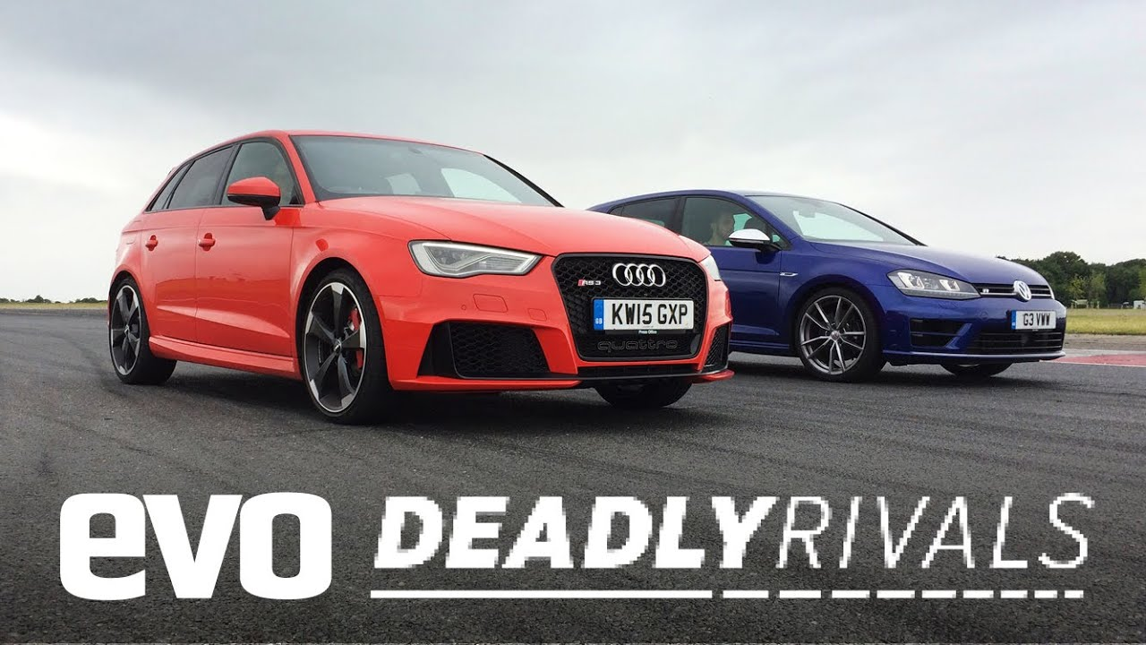 Audi RS3 vs Volkswagen Golf R