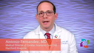 Dr. Antonio Fernandez, Medical Director, Hartford Hospital Cardiac Intensive Care Unit
