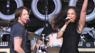 Keith Urban & Alicia Keys Gimme Shelter Live Earth New York 07.07.2007