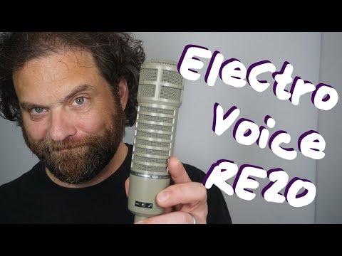 EV RE20 Review (SM7B, TLM103, E100S, RE27 comparisons included!)