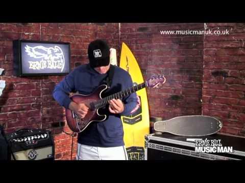 Ernie Ball Music Man - Steve Morse Y2D - Demo by Brian Kellner