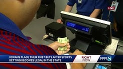 Sports gambling begins in Iowa: What you need to know