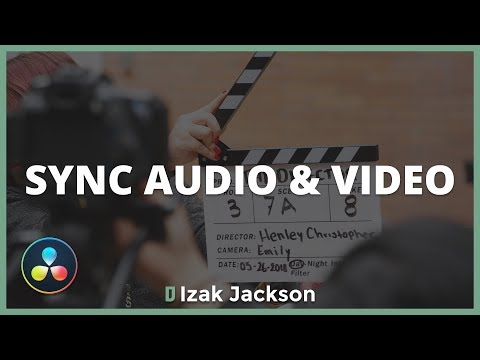 How To Automatically Sync Audio & Video In Davinci Resolve