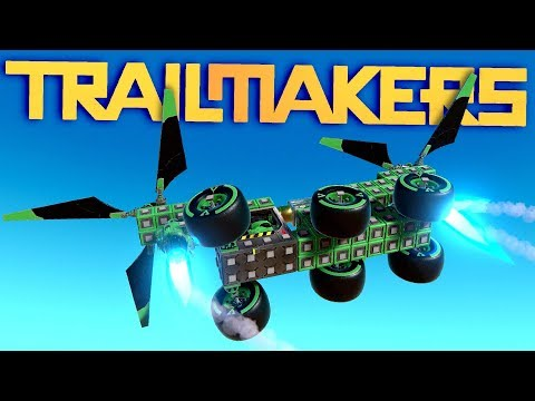 Trailmakers - BEST HELICOPTER EVER BUILT BY MAN! - New Multiplayer Update! - Trailmakers Gameplay