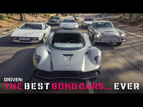 Driving the best Bond cars ever! | Top Gear