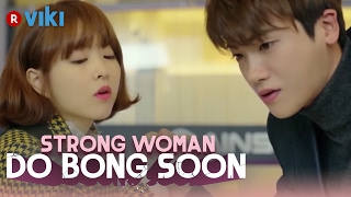 Strong Woman Do Bong Soon - EP 1  Park Hyung Sik Arm Wrestles Park Bo Young Eng Sub