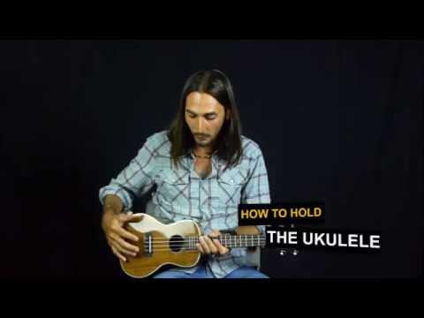 Beginner Ukulele Lessons Lesson 2 How To Hold The Uke Youtube