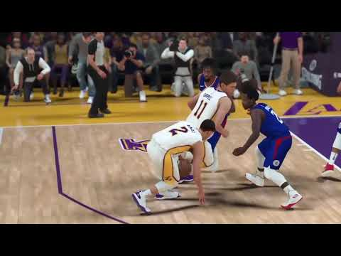 Nba 2k18 Los Angeles Lakers Vs Los Angeles Clippers