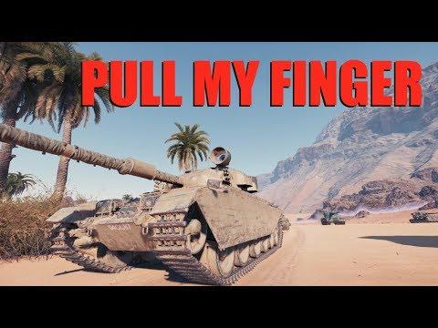 WOT - Pull My Finger | World of Tanks
