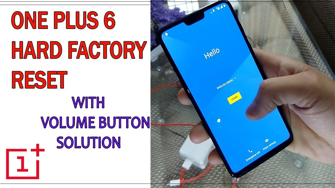 One plus 6 Hard Factory Reset & Volume Button Problem Solution