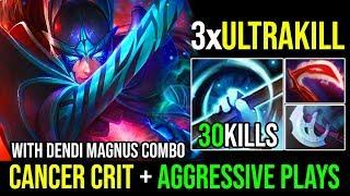 3xUltrakills SUPER AGGRESSIVE PLAYS 31KILLS [Phantom Assassin] Cancer Crit With RP By Nine   Dota 2