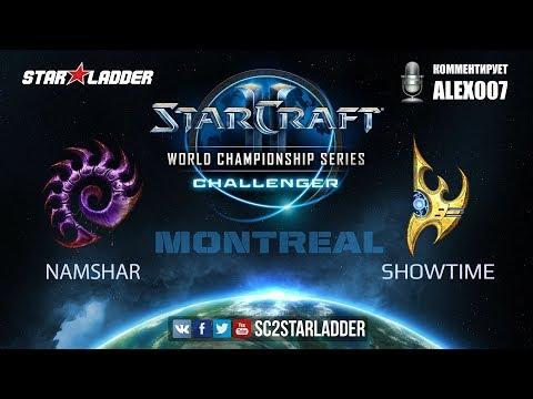 2017 WCS Challenger Montreal: Namshar (Z) vs ShoWTimE (P)