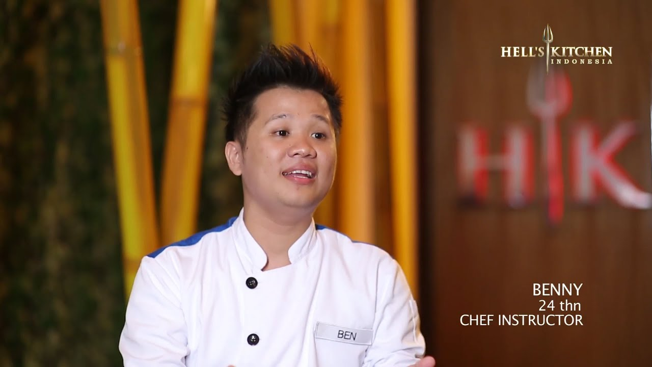 ben - contestant profile - hell's kitchen indonesia - youtube