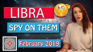 "LIBRA, "" WHAT DO THEY SECRETLY WANT TO TELL YOU""  February 2019 SPY ON THEM LOVE READINGS"