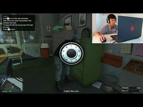 เล่นเกม GTA V ปล้นตู้เซฟของทหาร