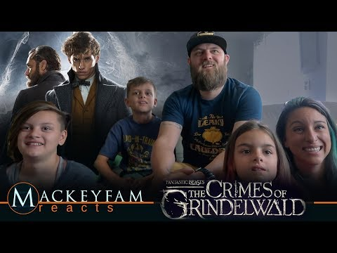 Fantastic Beasts: The Crimes of Grindelwald - Official Comic-Con Trailer- REACTION and REVIEW!!!