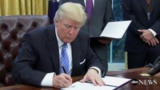 Trump Revised Travel Ban Revealed | ABC News