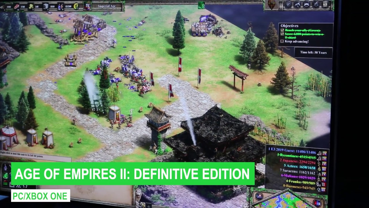 Age of Empires II: Definitive Edition Gameplay (E3 2019)