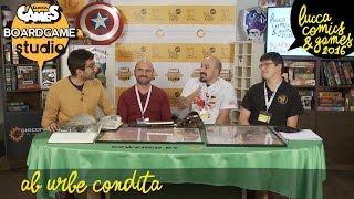 [Lucca Comics & Games] Boardgame Studio: Ab Urbe Condita