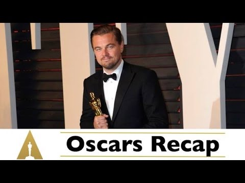 2016 Oscars Recap: Leonardo DiCaprio Finally Wins an Oscar!